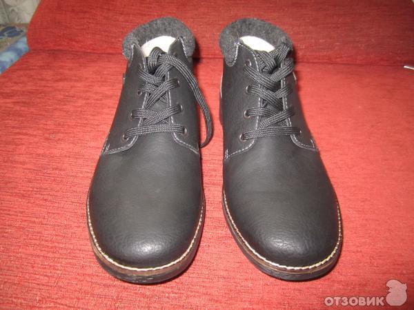 зимняя мужская обувь rieker отзывы
