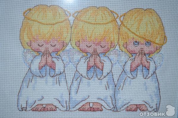Отзывы о вышивке ангелочков 838