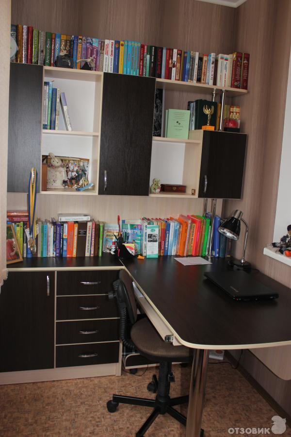 Отзыв о компьютерный стол тиса ск-15 для всего найдется мест.