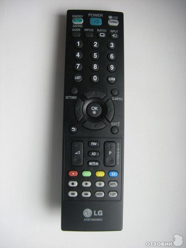 инструкция пульт управления телевизором lg
