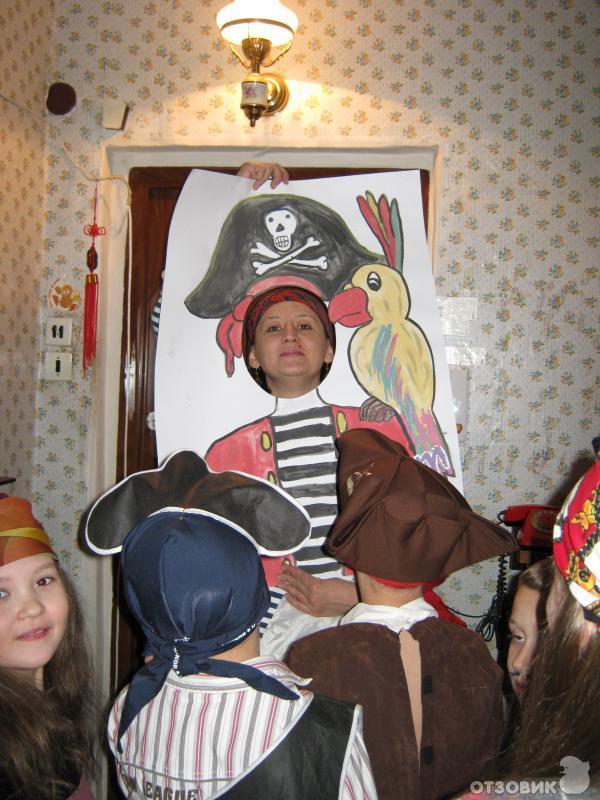 Детский день рождения в стиле пиратов своими руками