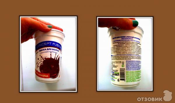 Маска с йогуртом для волос