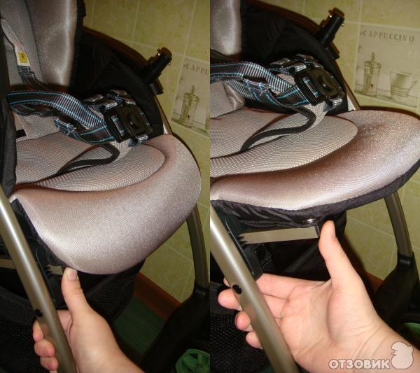 Как сделать в коляску подножку 701