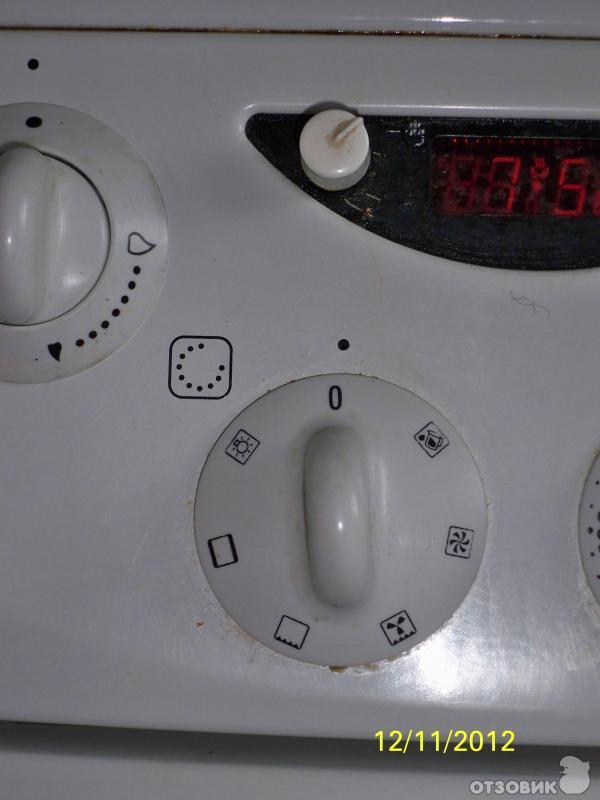 печка горение газовая с электрической духовкой инструкция - фото 5
