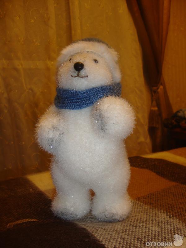 Медведь из пенопласта своими руками 64