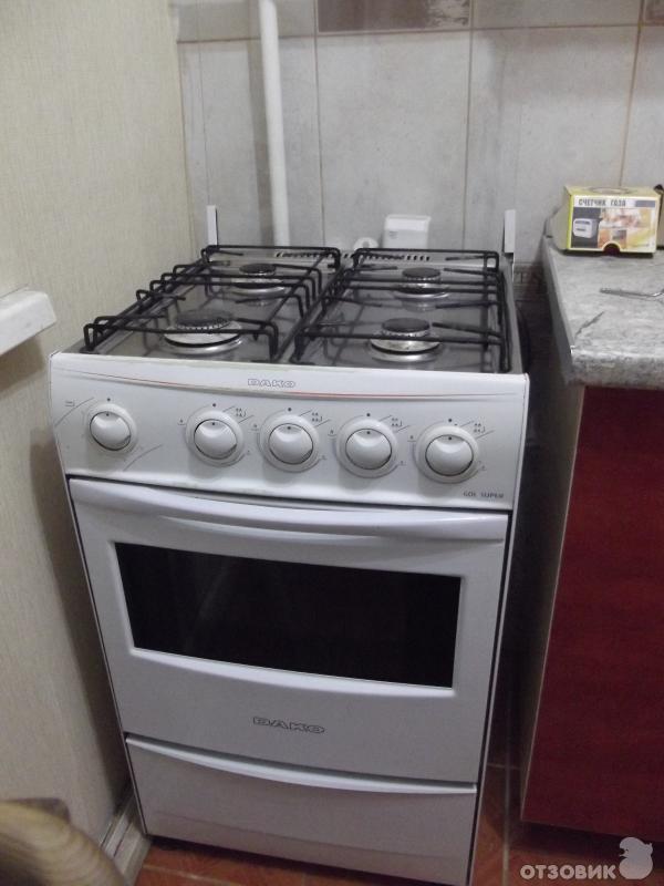 Инструкция газовой плиты дако