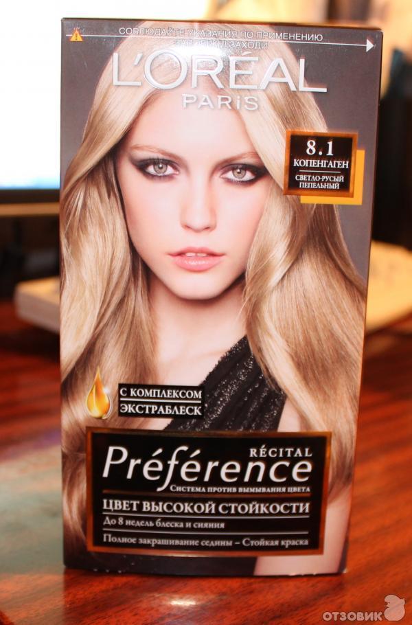 Отзыв о Краска для волос L'Oreal Recital Preference | Цвет ...