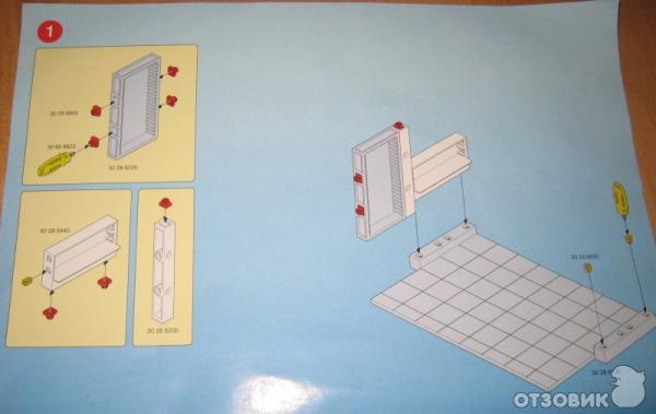 Инструкция по сборке кроватки