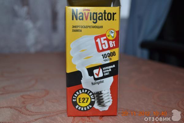 Отзыв: Энергосберегающие лампы Navigator - Хорошее решение.
