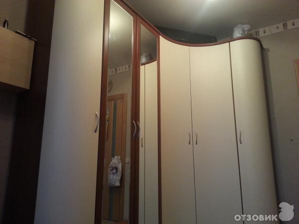 Отзыв о шкаф с радиусными дверями эльба-мебель хорошее качес.