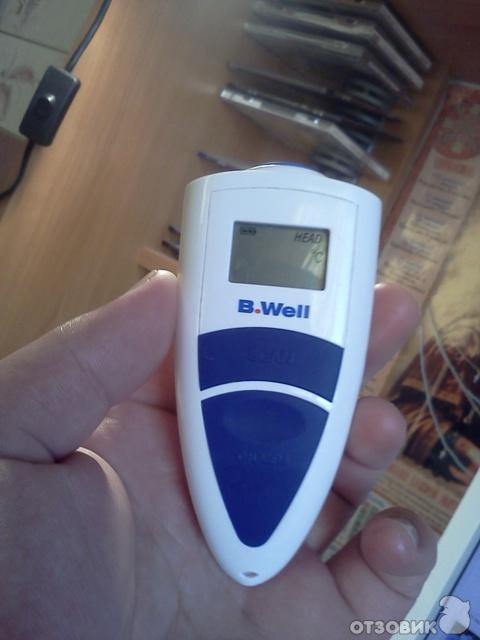 Термометр инфракрасный b. Well wf 2000 лобный — купить в интернет.