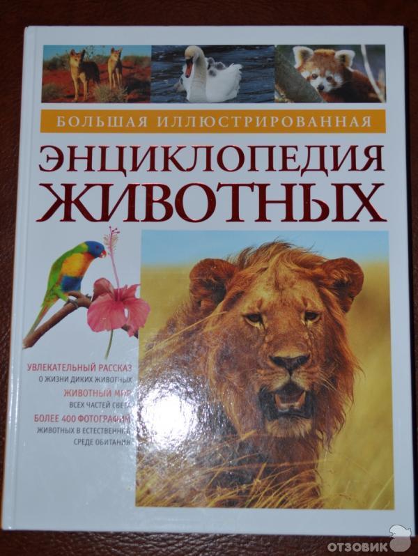 это энциклопедии про животных фото что