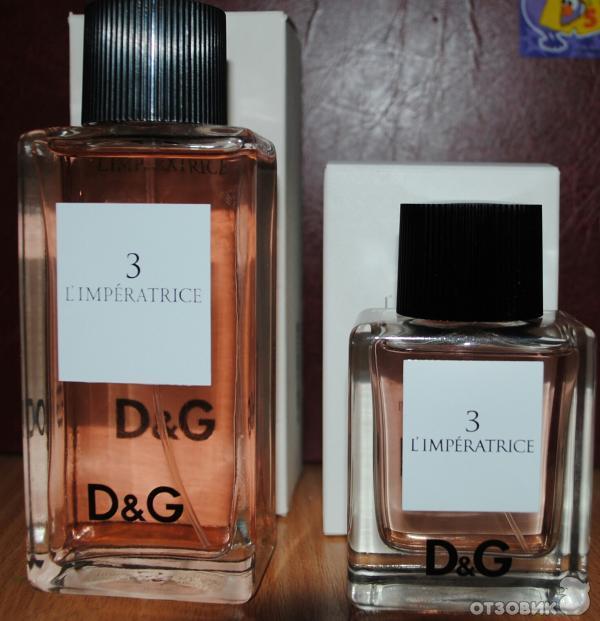 Отзыв о Духи Dolce   Gabbana 3 L Imperatrice  1416c2554d40b