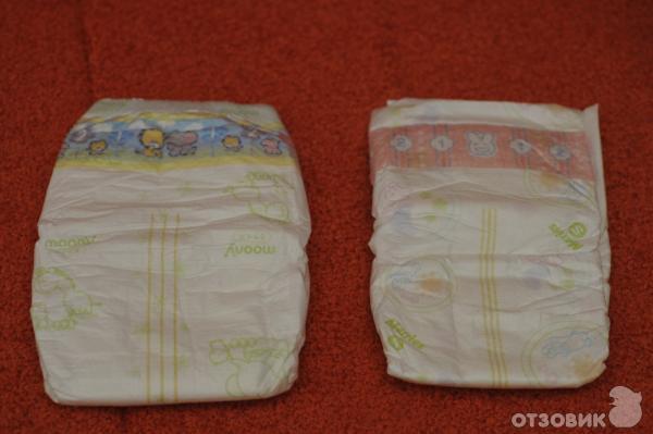 39932d0900a9 Отзыв о Подгузники для детей Moony   Хорошие подгузники, но Merries ...